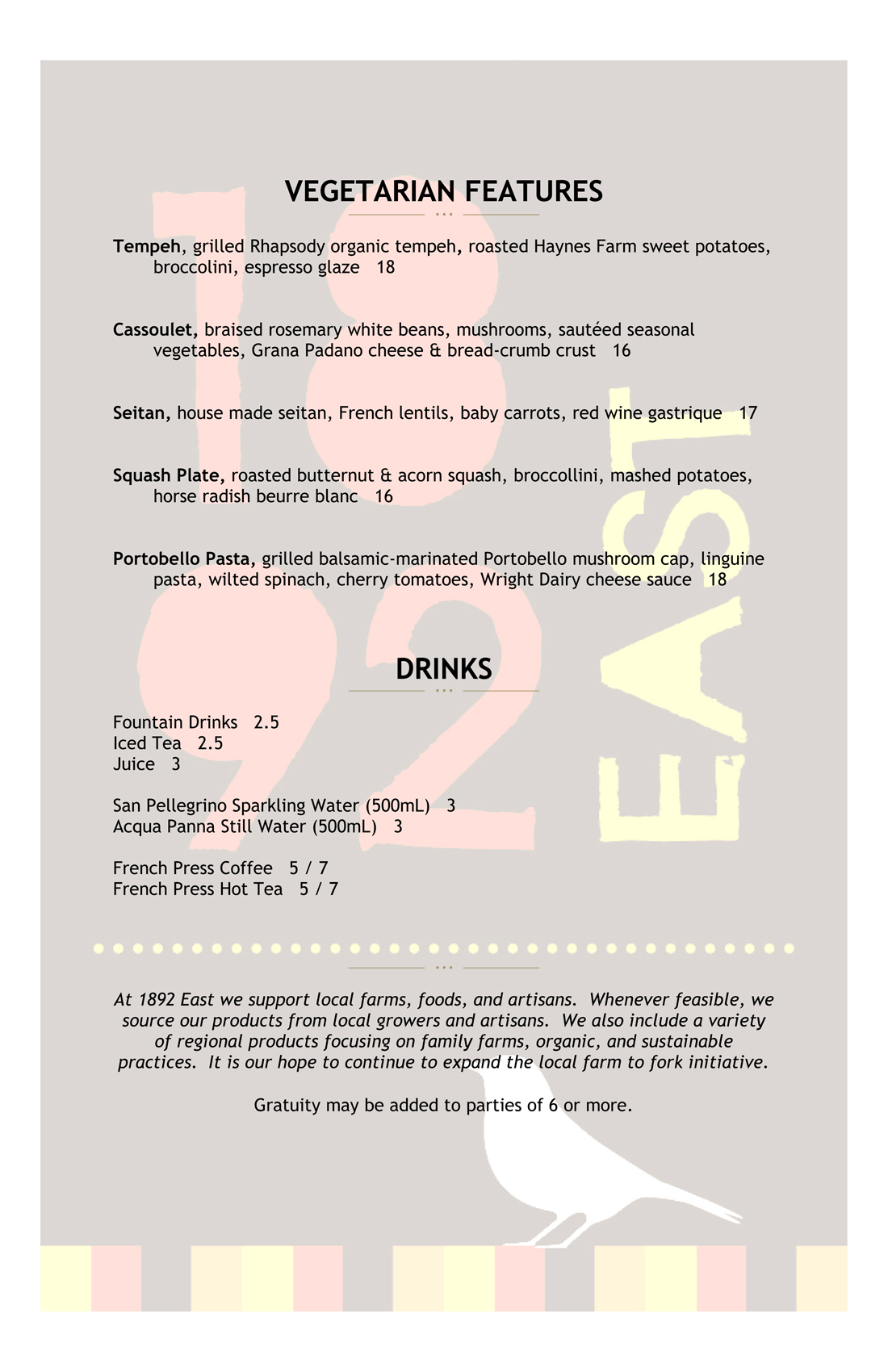 1892 East Dinner 10-31-19-2